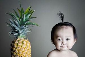 6 Aylık Bebek Ananas Yer mi