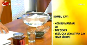 Kombu Çayı Tarifi Ender Saraç