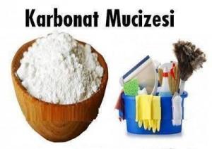 Karbonat ile temizlik tüyoları…