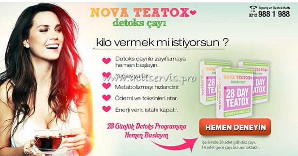 Nova Teatox Zayıflama Çayı