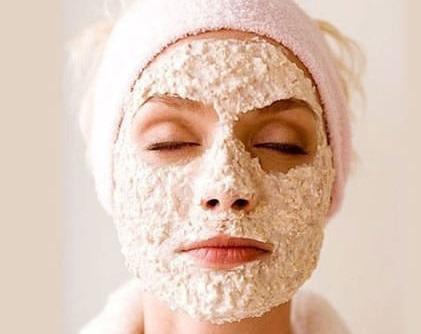 Parlak cilt için yulaf maskesi