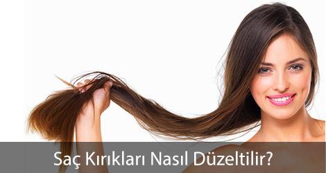 Saç Kırıkları Nasıl Düzeltilir?