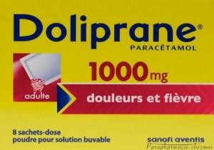 Doliprane 1000 mg