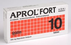 Aprol Fort 550 mg 10 Tablet