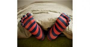 Çorapla yatmak zararlı mı?