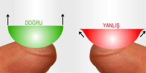 Lensin Tersi Düzü Nasıl Anlaşılır?